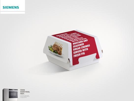 Siemens Print Ad -  Fast food - lamb