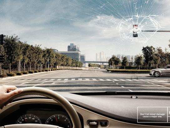 Sigortam Print Ad -  Traffic light