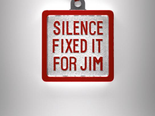 NAPAC Outdoor Ad -  Silence Fixed It For Jim