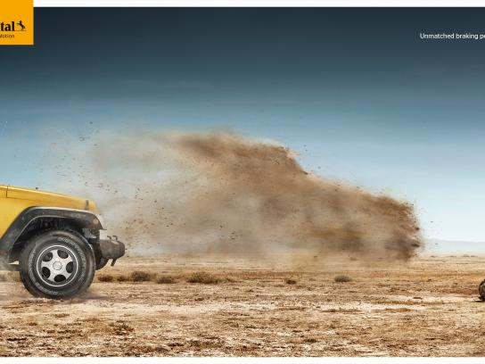Continental Print Ad -  Sand