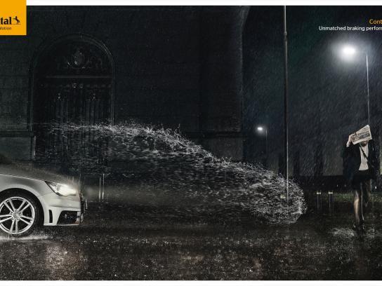 Continental Print Ad -  Rain