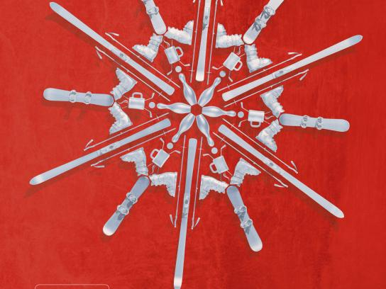 Silver Star Mountain Resort Print Ad -  Red