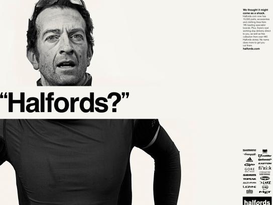 Halfords Print Ad -  Simon
