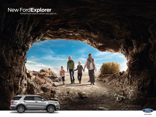 Ford Outdoor Ad - Hiking