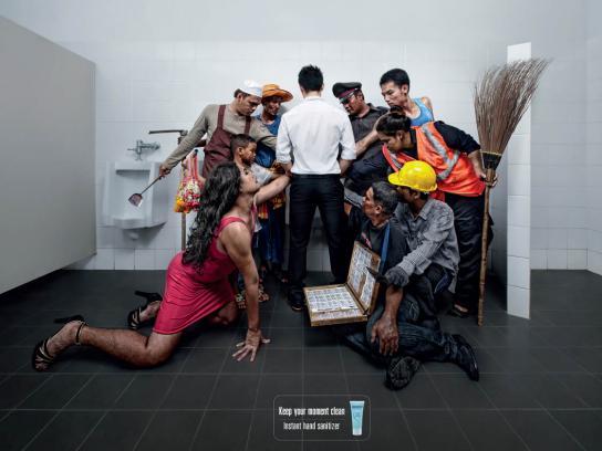 Siribuncha Print Ad -  Man