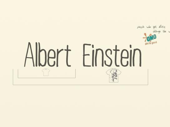 OMO Print Ad -  Einstein