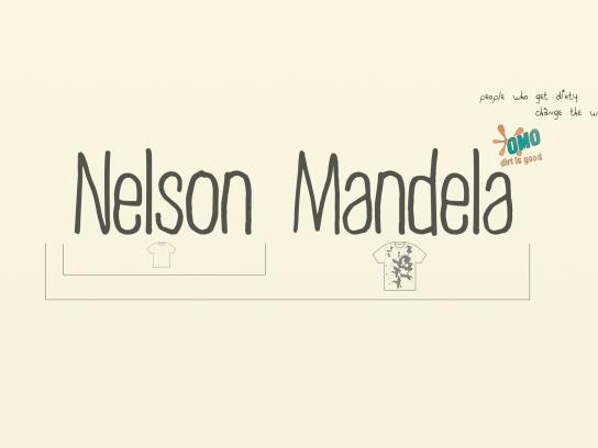 OMO Print Ad -  Mandela