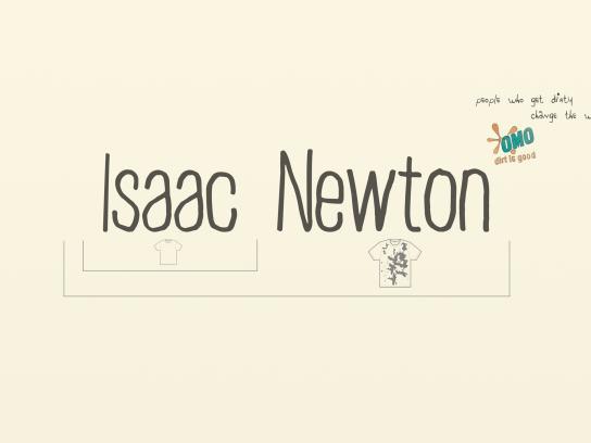 OMO Print Ad -  Newton