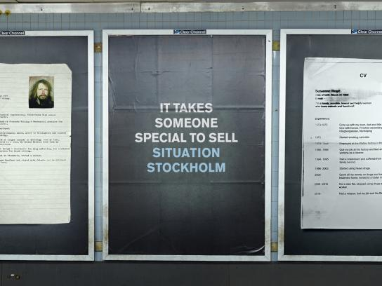 Situation Stockholm Outdoor Ad -  Cv Campaign