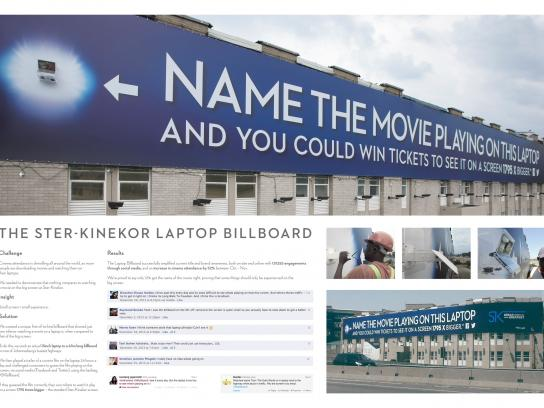 Ster-Kinekor Outdoor Ad -  The Laptop Billboard