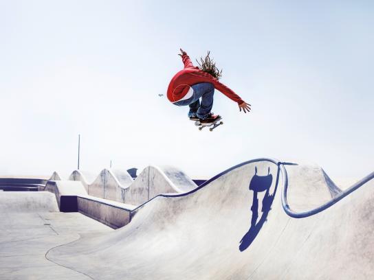 Pepsi Print Ad - Skateboard