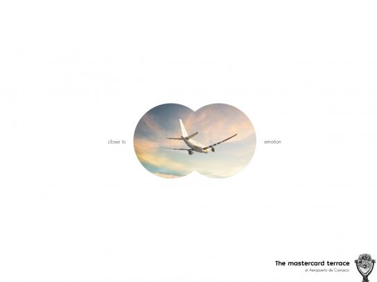 Carrasco Airport Print Ad - Skyline Binocular - Closer To Emotion, 1