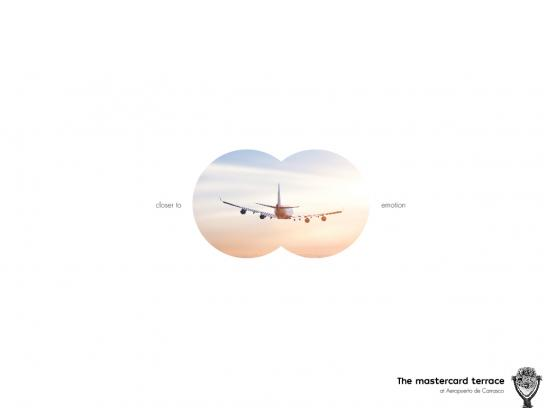 Carrasco Airport Print Ad - Skyline Binocular - Closer To Emotion, 2