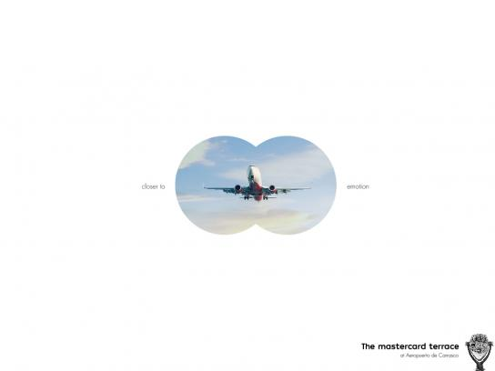 Carrasco Airport Print Ad - Skyline Binocular - Closer To Emotion, 3