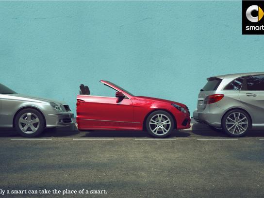 Smart Print Ad - Smart cut, 1
