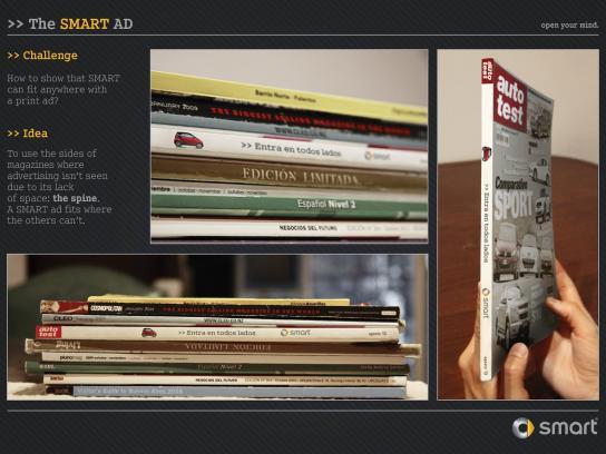 Smart Print Ad -  Spine