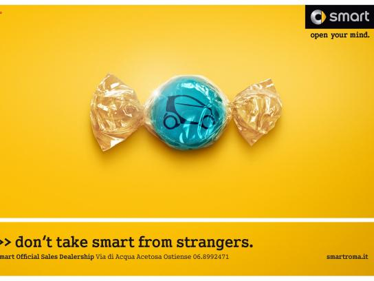 Smart Print Ad -  Smart candies