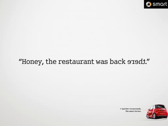 Smart Print Ad -  Restaurant