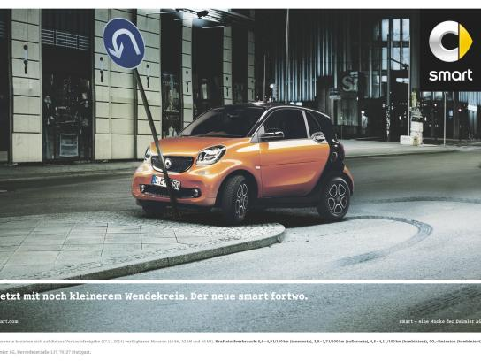 Smart Print Ad -  U-turn
