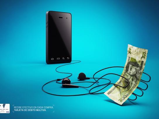 Banco Multiva Print Ad -  Smartphone