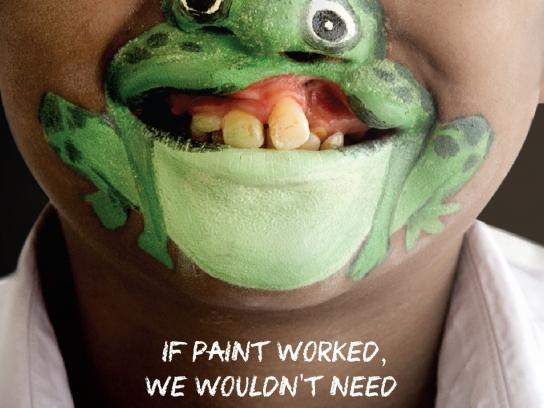 Operation Smile Print Ad -  Frog