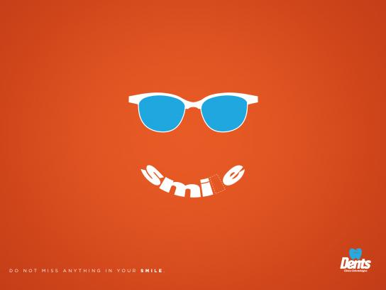 Dents Print Ad - Smile
