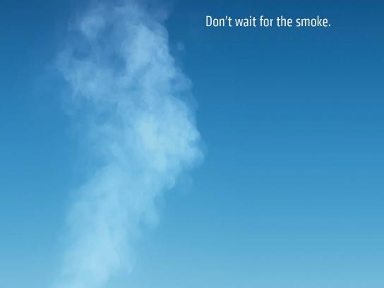 Chevrolet Print Ad -  Smoke