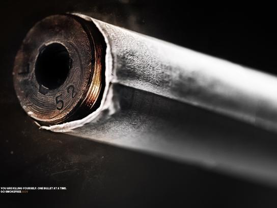 Smokefree.gov Print Ad - The Bullet
