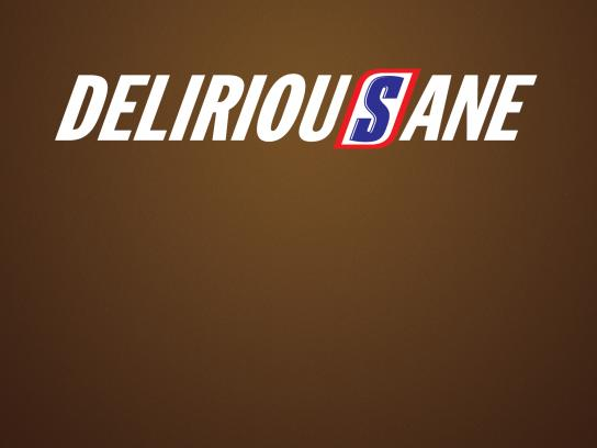 Snickers Outdoor Ad - DeliriousSane