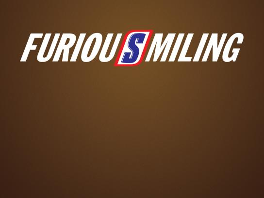 Snickers Outdoor Ad - FuriousSmiling