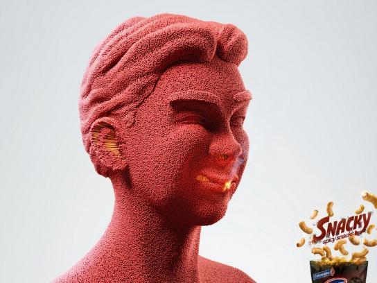 Snacky Print Ad -  Match Boy