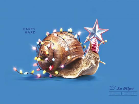 Le Silpo Delicacy Grocery Store Print Ad - Snail