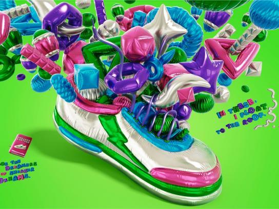 Sneaker Freaker Outdoor Ad -  Float