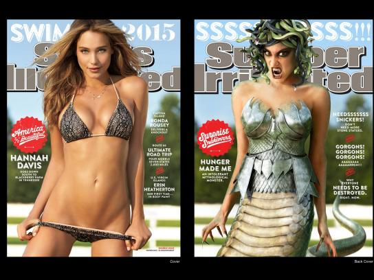 Snickers Print Ad -  Medusa