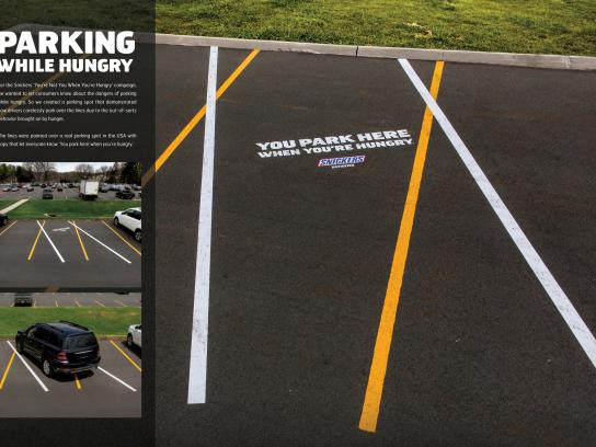 Snickers Outdoor Ad -  Parking While Hungry