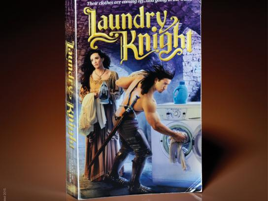 Snickers Print Ad -  Laundry Knight