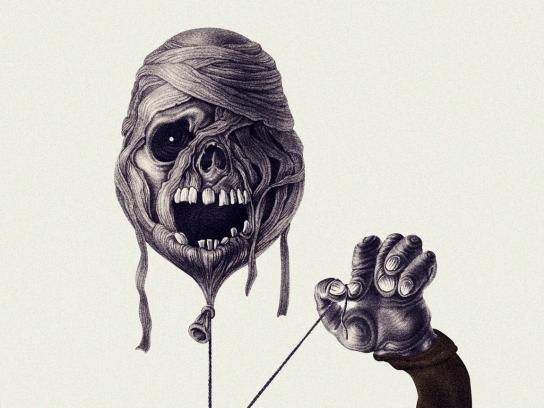 Snickers Print Ad - Balloons, Lifeless