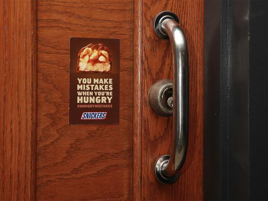 Snickers Outdoor Ad -  Hungry mistakes, 1