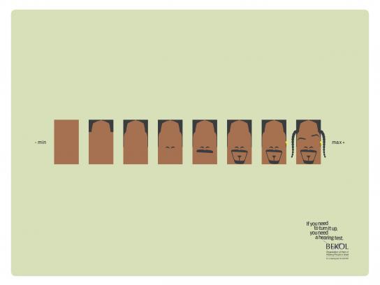 Bekol Print Ad -  Snoop