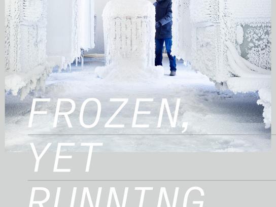 Trane Print Ad - Snow