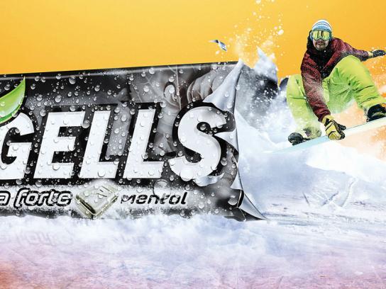 Freegells Print Ad -  Snowboard
