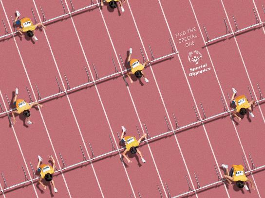 Special Olympics Print Ad - Patterns - Athletics