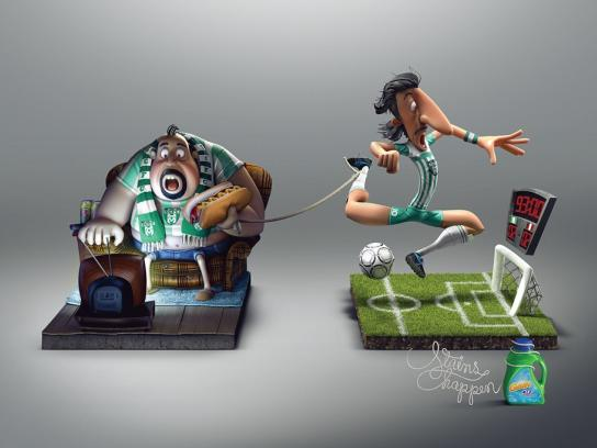 Gain Print Ad -  Soccer