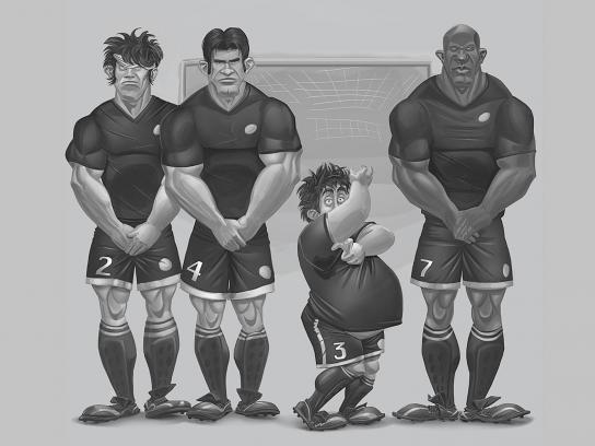 Nissan Print Ad -  Soccer