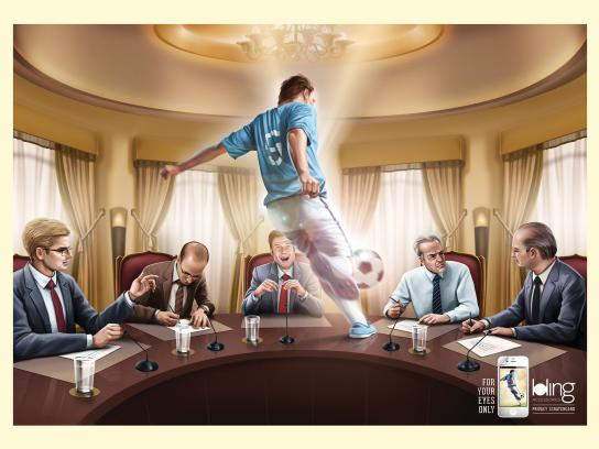 Bling Accessories Print Ad -  Soccer