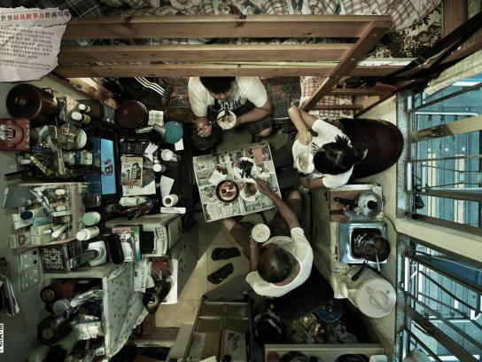 Society for Community Print Ad -  Cubicle Dwellers, 4