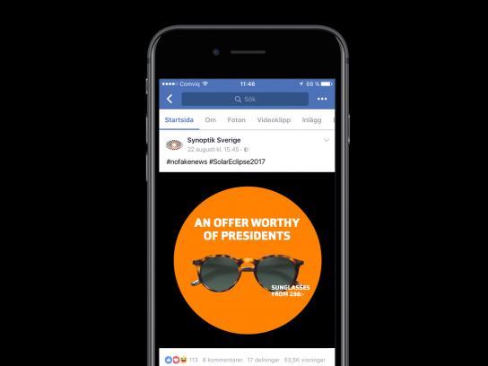 Synoptik Digital Ad - A Presidential Offer