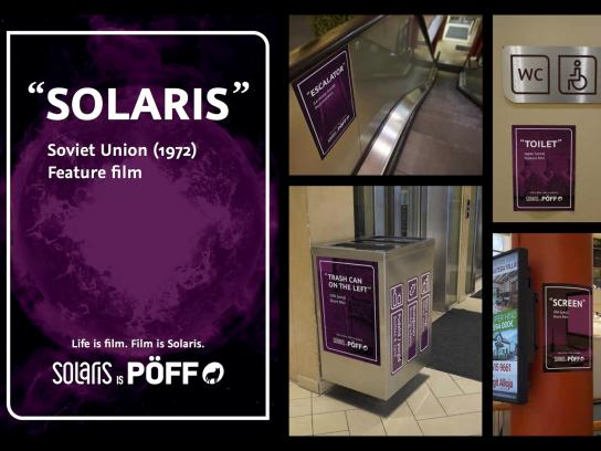 Solaris Outdoor Ad - Life is a Film