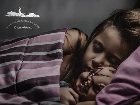 Sonho Bianco Print Ad -  Chucky