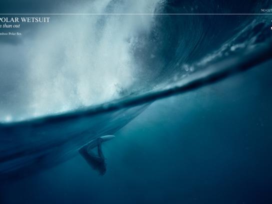 Sooruz Print Ad -  Polar Wetsuit, 1